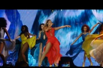 """Beyonce Premieres """"Standing On The Sun"""" In Belgium"""