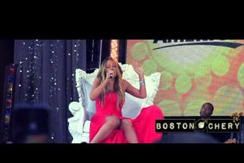 "Mariah Carey Feat. Miguel ""Perform ""#Beautiful"" On GMA"" Video"