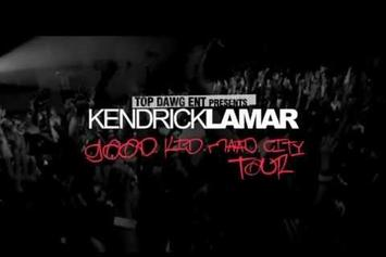 "Kendrick Lamar Feat. Schoolboy Q, Ab-Soul & Jay Rock "" ""U.O.E.N.O. (Remix)"" & ""good kid, m.A.A.d city"" Tour Promo"" Video"