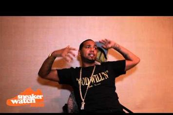 "Juelz Santana ""Talks Massive Sneaker Collection"" Video"