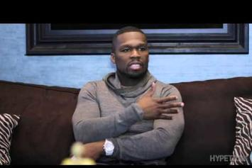 "50 Cent ""Speaks On SMS Audio, Current Hip-Hop Sound & More"" Video"