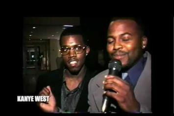 """Kanye West Feat. Mase """"Footage From Jermaine Dupri's 1998 Birthday Party"""" Video"""
