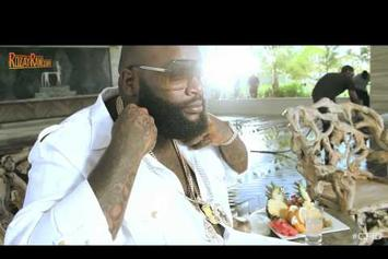 "Rick Ross Feat. Drake & Wale ""BTS Of ""Diced Pineapples"""" Video"