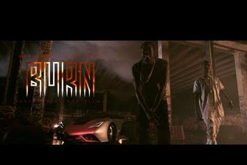 "Meek Mill Feat. Big Sean ""Burn"" Video"