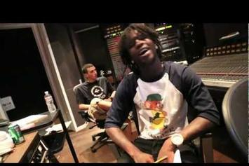 """Chief Keef Feat. Soulja Boy & Young Chop """"In The Studio"""" Video"""