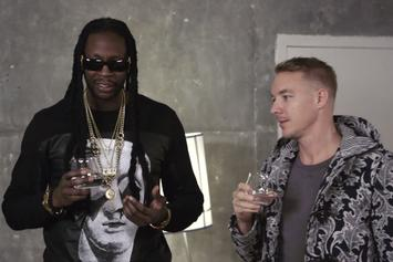 """2 Chainz & Diplo Drink $100K Water For """"Most Expensivest Shit"""""""
