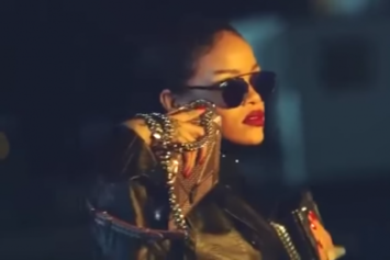 Rihanna Previews New Song In Dior Spring 2015 Campaign