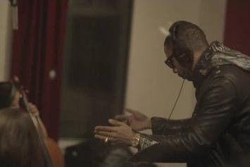 "Ryan Leslie Records New Song ""Mill'ns"" In-Studio"