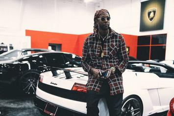 """2 Chainz Is Selling """"Ugly Christmas Sweaters"""" Featuring Weed Leaves & Dabbin' Santas"""