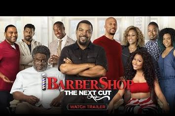 "Ice Cube, Nicki Minaj, Common, & Tyga Star In ""Barbershop 3"" Trailer"