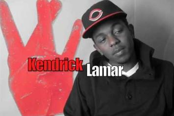"""Watch Kendrick Lamar Freestyle Over Kanye West's """"So Appalled"""" In 2009"""
