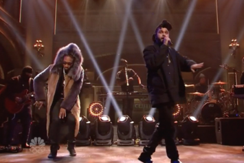 """The Weeknd Joins Future On SNL For """"Low Life"""""""