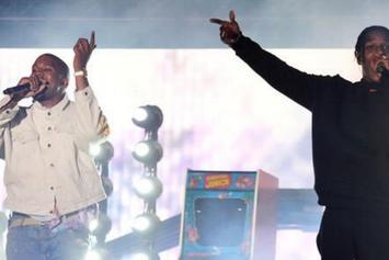 A$AP Rocky Brings Out Kanye West At Coachella 2016 [Full Set]