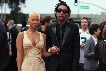 Amber Rose & Wiz Khalifa Reach Divorce Settlement, Hit Strip Club Together
