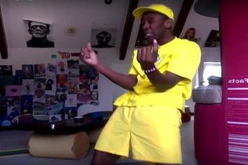 """Tyler, The Creator Dances Around To His Own Remix Of Zayn's """"Pillowtalk"""""""