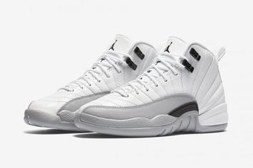 "The Air Jordan 12 GS ""Barons"" Makes Its Debut This Weekend"