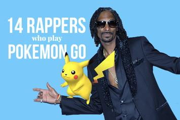 14 Rappers Who Play Pokemon Go