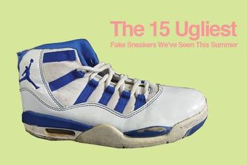 The 15 Ugliest Fake Sneakers We've Seen This Summer