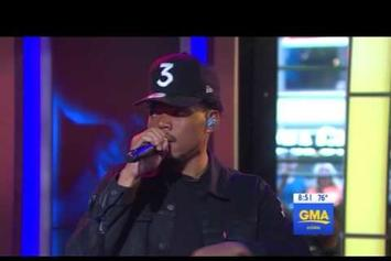 "Chance The Rapper Performs ""Summer Friends"" On ""Good Morning America"""