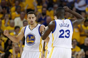 Drake Brought Out Steph Curry And Draymond Green For Too Short Performance At Oracle Arena