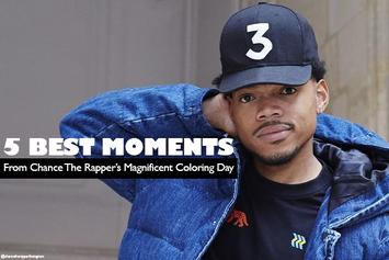 The 5 Best Moments From Chance The Rapper's Magnificent Coloring Day Festival