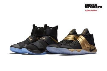 "Nike Releasing ""Game 7"" Kyrie x LeBron Championship Pack Today"