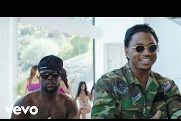 """Kevin Hart Feat. Trey Songz """"Push It On Me"""" Video"""