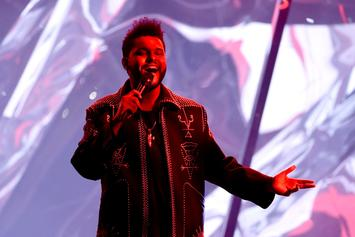 "All 18 Of The Weeknd's ""STARBOY"" Songs Charting On Hot 100"