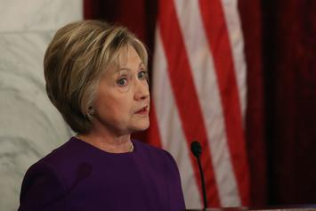 """Hillary Clinton Blames Election Loss On """"Personal Beef"""" With Putin"""