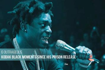 6 Outrageous Kodak Black Moments Since His Prison Release