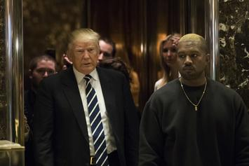 """Kanye West Not """"Traditionally American"""" Enough For Trump Inauguration"""