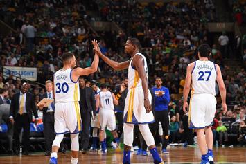 Stephen Curry And Kevin Durant Finally Comfortable Playing With Each Other