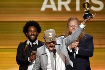 "Chance The Rapper Wins Grammy For ""Best New Artist"""