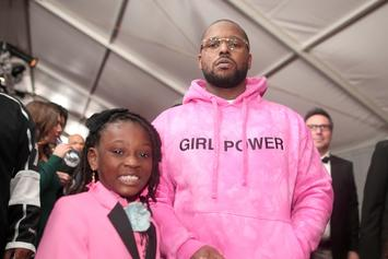 ScHoolboy Q Takes Daughter To Grammy Night And Promotes Girl Power