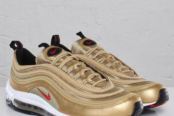 Gold Air Max 97s Reportedly Releasing This Spring