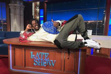 """Joey Bada$$ Performs """"Land Of The Free"""" On The Late Show With Stephen Colbert"""