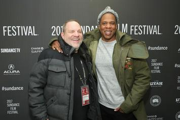 """Movie Producer Harvey Weinstein Co-Signs Jay-Z: """"He's One Of The Most Brilliant Men I Know"""""""