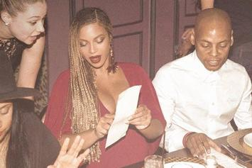 Pregnant Beyonce Stares At A Restaurant Menu & Becomes A Meme