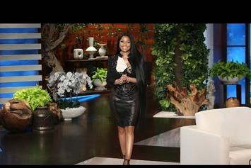 Nicki Minaj Responds To Nas Dating Rumors On The Ellen Show