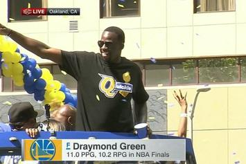 """LeBron James Comments On Draymond Green's """"Quickie"""" T-Shirt"""