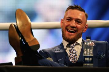 """Conor McGregor's """"F**k You"""" Suit Is Available To Own"""
