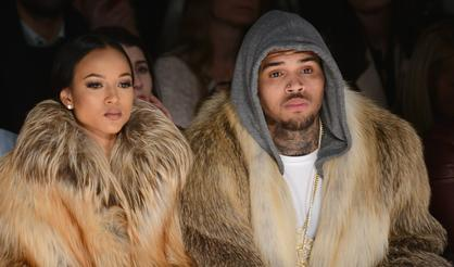 Chris Brown & His Ex Karrueche Tran Go After Each Other In Instagram Comments