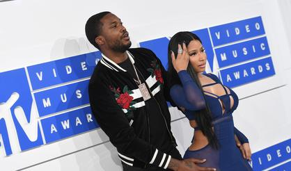 Meek Mill Trolls Fans With Photoshopped Pic Of Pregnant Nicki Minaj