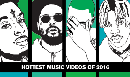 Hottest Music Videos of 2016