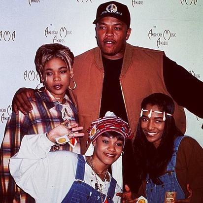 Dr. Dre with TLC