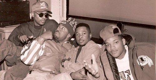 Jazzy Jeff, Ed Lover and Will Smith