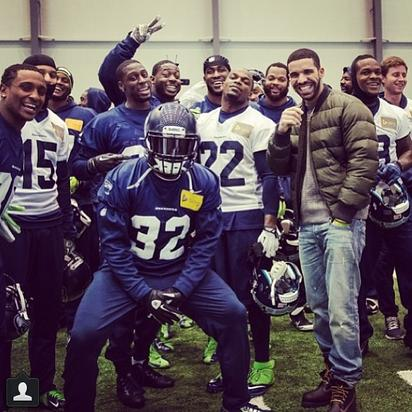 Drake & Seattle Seahawks