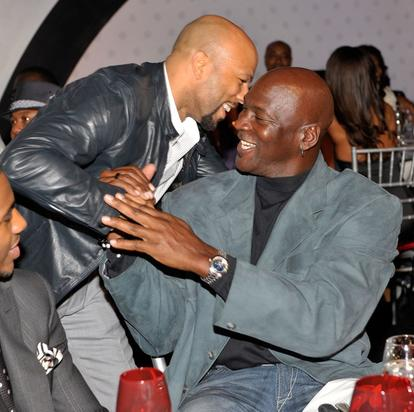 Common & Michael Jordan
