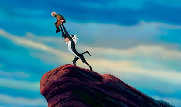 #SadKanye in the Lion King