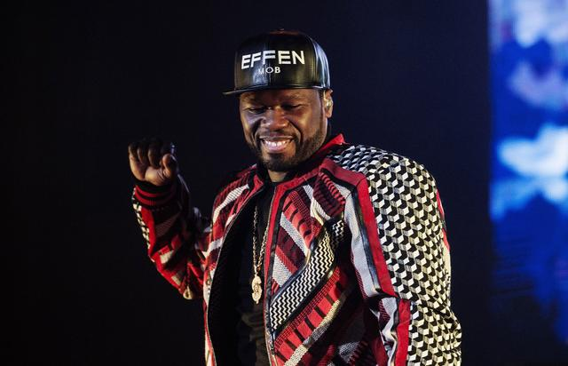 50 Cent Performs At SSE Hydro In Glasgow